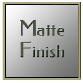 Matte-Finish Stones