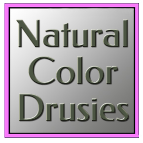 Uncoated Natural-Color Drusies