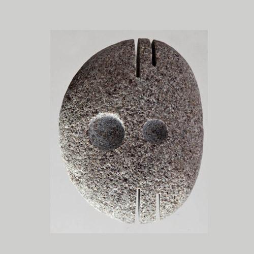 Greg Genovese Carved Beachstone Pendant