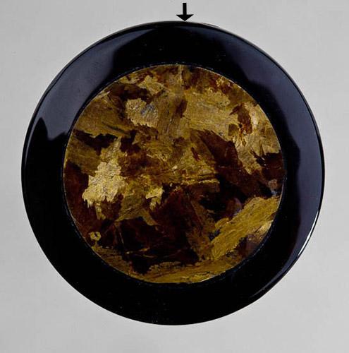 Bronzite Collared Drilled Pendant