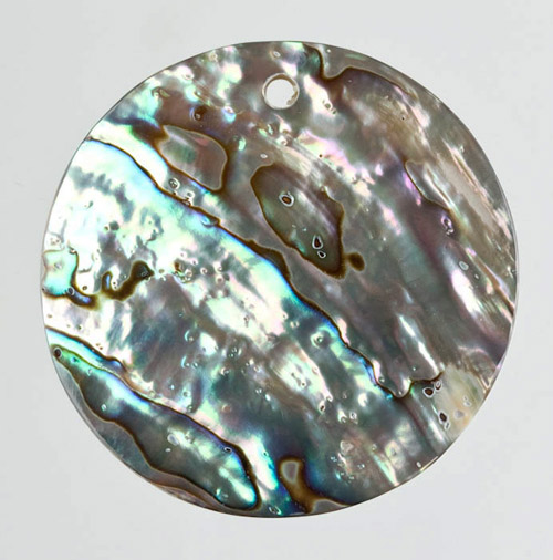 Abalone Shell Drilled Pendant