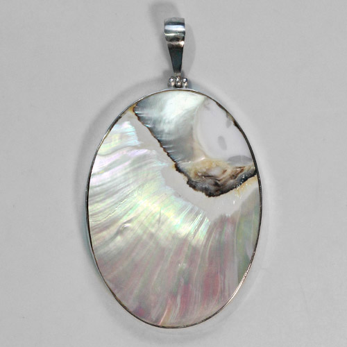 Mother of Pearl -Mabe Pearl Pendant
