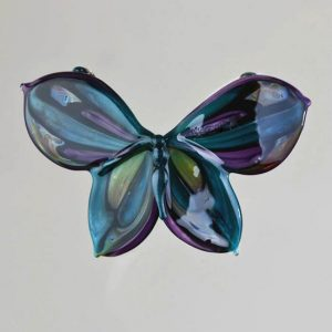 Teal Butterfly Pendant