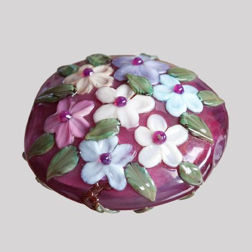 Kim Fields Pink Blossom Bead