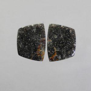 Pyrite in Quartz Pair
