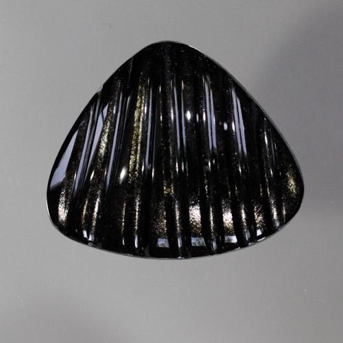 Silvery Gold Sheen Obsidian