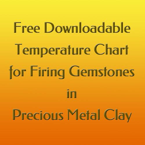 PMC Gemstone Heat Tolerances Chart