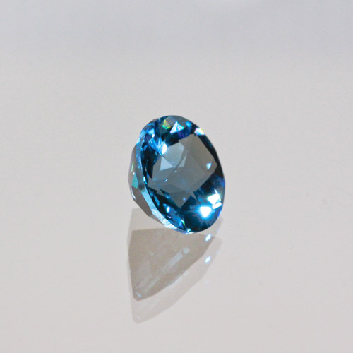 Blue Topaz Round