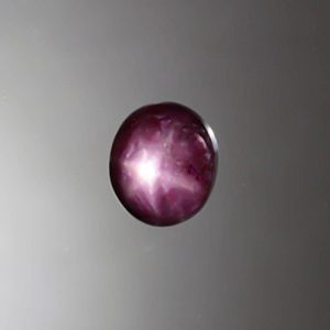 Star Ruby Gem Cabochon