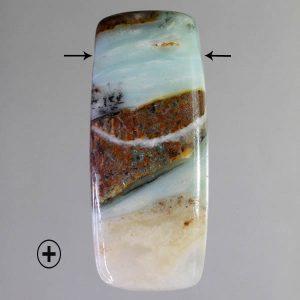 Ocean Picture Jasper Drilled Pendant