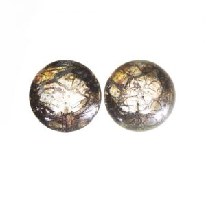 Feather Pyrite Pair