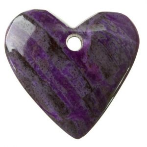 Sugilite Drilled Pendant
