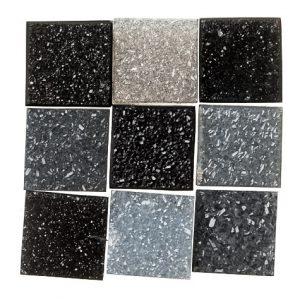 Hermann Petry Monochrome Druzy Squares