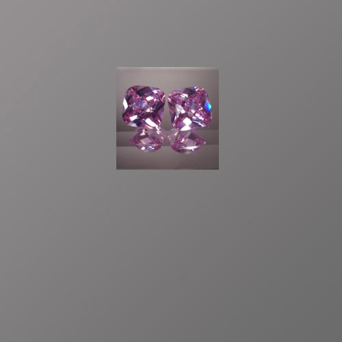 CZ Lavender Cushion