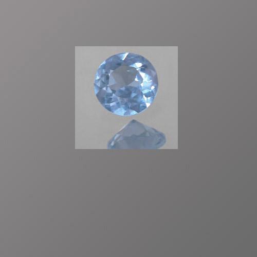 Lab Spinel Light Aquamarine Blue
