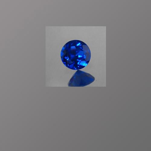 Lab Spinel Dark Sapphire Blue