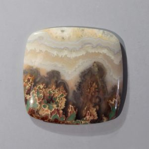 Prudent Man Plume Agate