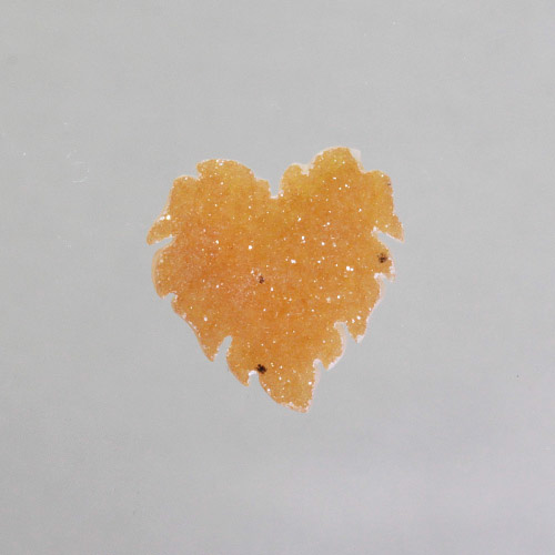Genovese Butterscotch Druzy Leaf